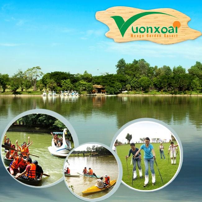 Khu du lịch sinh thái Vườn Xoài - Đồng Nai