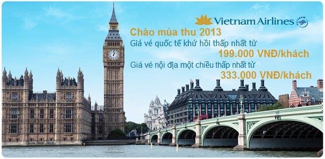 Vietnamairlines - Chào mùa thu 2013