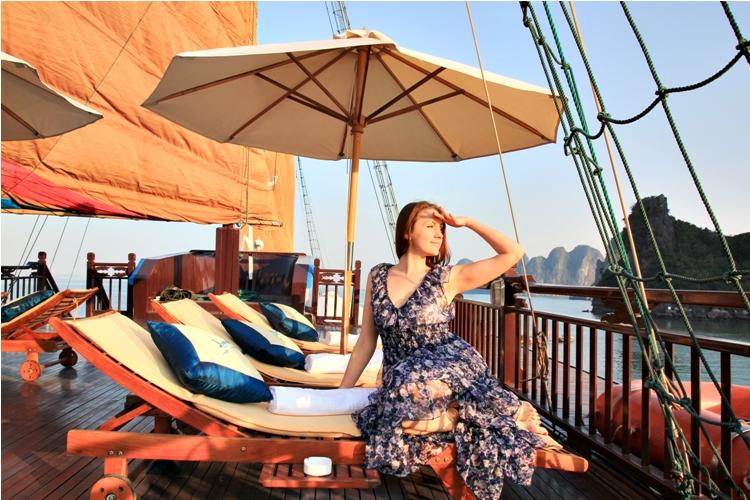 Du thuyền Hạ Long Aphrodite Cruise 2 ngày 1 đêm
