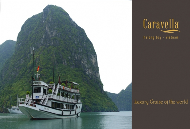 Du thuyền Caravella Cruise Hạ Long 2 ngày 1 đêm