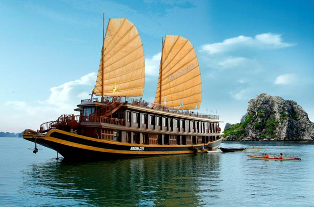 Du thuyền Indochina Sails Hạ Long 3 ngày 2 đêm