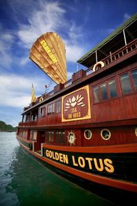 Du thuyền Golden Lotus Hạ Long 2 ngày 1 đêm