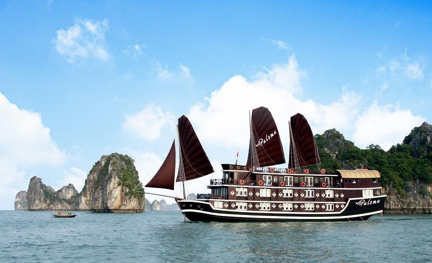 Du thuyền Paloma Hạ long 2 ngày 1 đêm