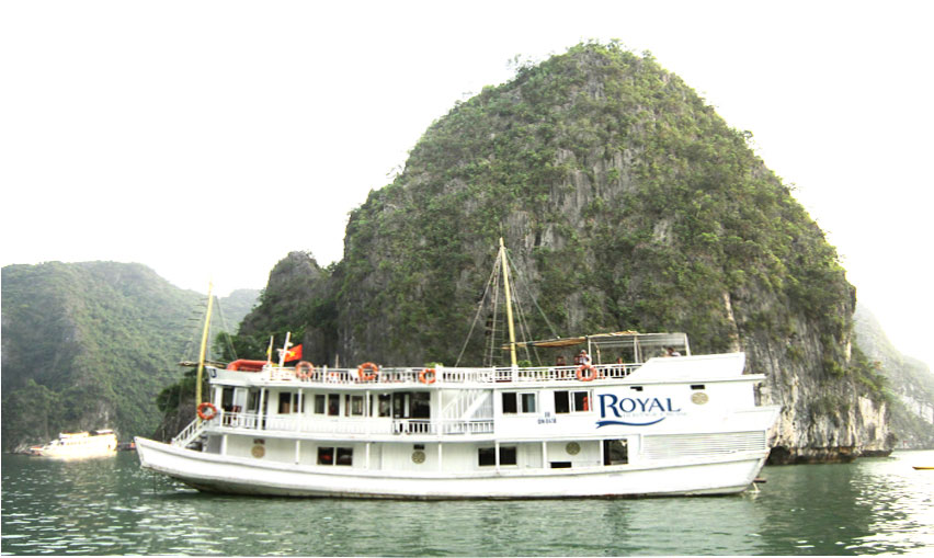 Du thuyền Halong Royal Heritage Cruise 2 ngày 1 đêm