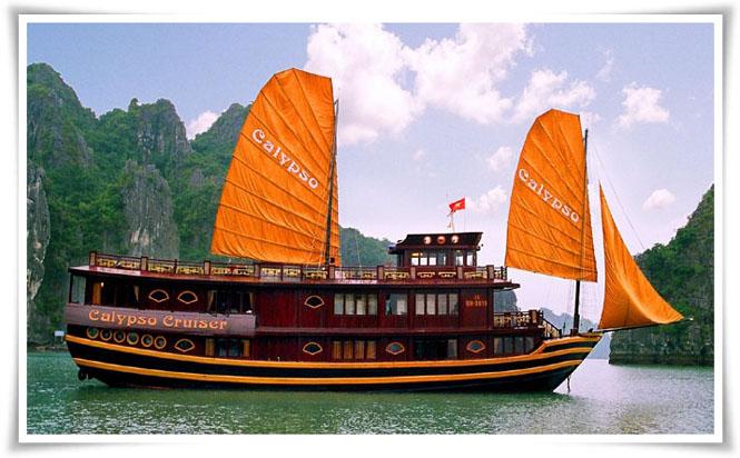 Du thuyền Calypso Hạ Long 2 ngày 1 đêm